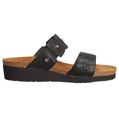 665ae6574fd4 NAOT Footwear Women s Ashley Black Lace Nubuck 35 ...