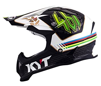 KYT ysea0009.4 Casco Moto, multicolor, ...