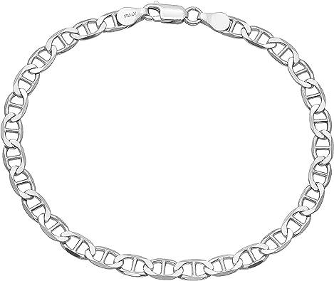 Sterling Silver Mariner lien Chaîne 2 mm
