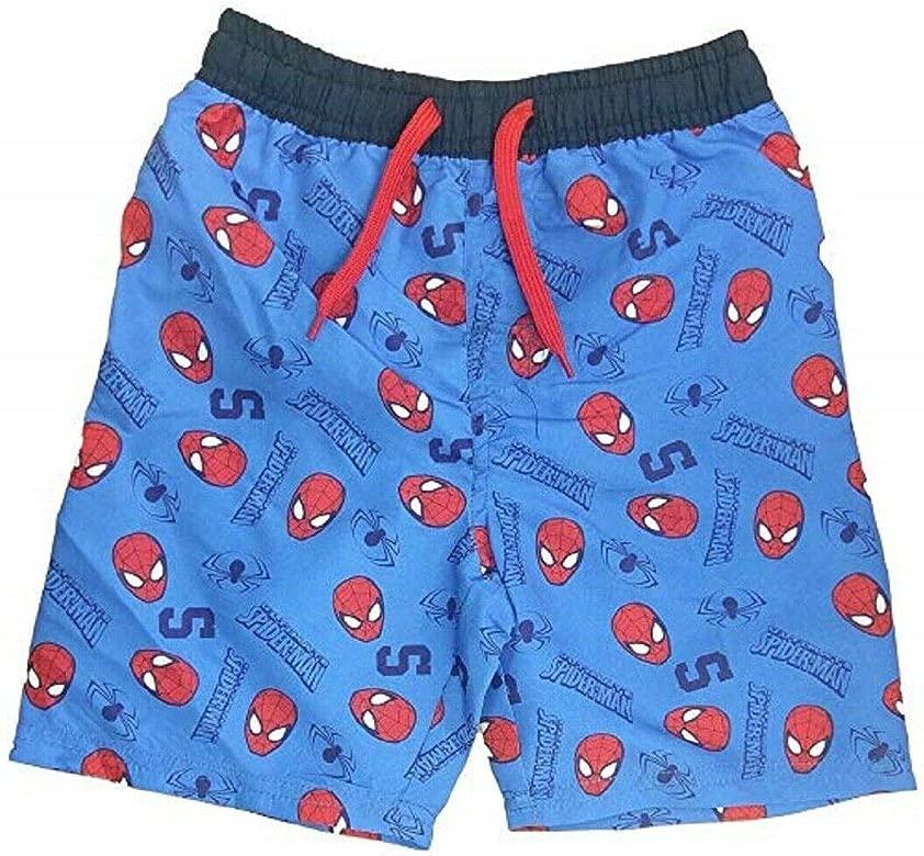Marvel Spider-Man Estampado de Traje de baño Azul Nadar ...