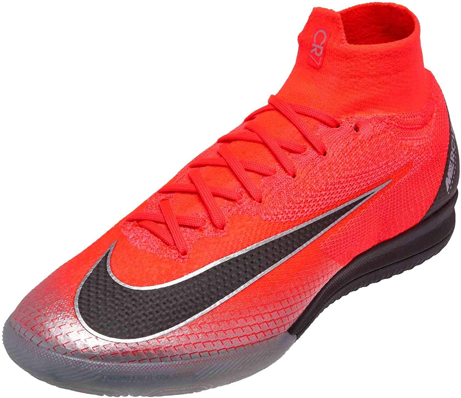 Nike Men S Superflyx 6 Elite Ic Indoor Shoes Court Football Boot Red Grey M11w125 Soccer