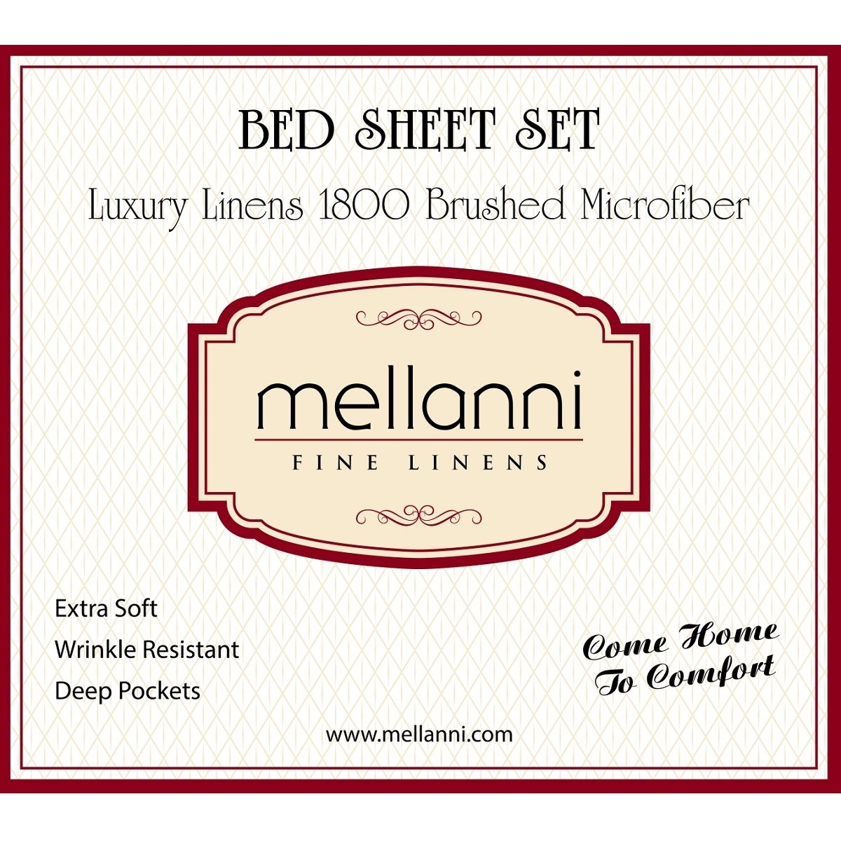 Mellanni Bed Sheet Set - Brushed Microfiber 1800 Bedding - Wrinkle, Fade, Stain Resistant - Hypoallergenic - 4 Piece (King, Spa Blue) by Mellanni (Image #3)