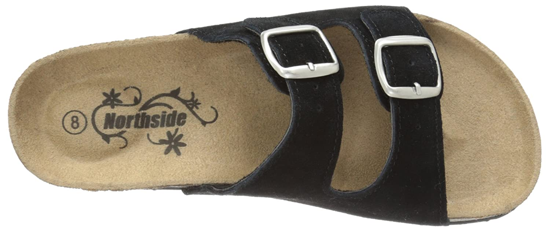 Northside Womens Mariani Leather Strap Cork Sandal MARIANI-W