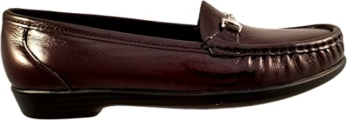 shoes for cheap sports shoes high fashion Amazon.com | SAS Womens Metro Dress Shoes, Wine | Loafers & Slip-Ons