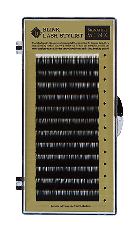 47b4723eb04 Amazon.com : Eyelash Extension Blink Signature Mink Lash C Curl 0.25 ...