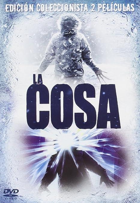 Pack La Cosa (2011) + La Cosa (1982) [DVD]: Amazon.es: Russel, Kurt, Carter, T.K, Edgerton, Joel, Winstead, Mary Elizabeth, Carpenter, John, Van Heijningen, Matthijs, Russel, Kurt, Carter, T.K, Abraham, Marc, Foster, David: