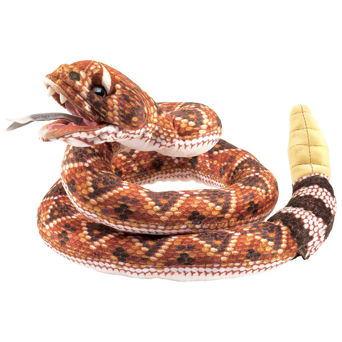 Folkmanis Rattlesnake Plush Hand Puppet