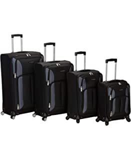 de5ce9097 Amazon.com | Rockland Luggage Milan Hybrid Eva 3 Piece Luggage Set ...