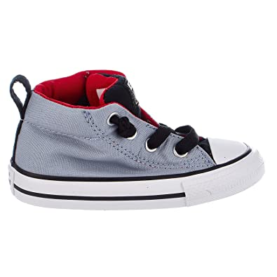 33f331a4c1d Converse Chuck Taylor All Star Street Mid Blue Granite Casino White  (Toddler)