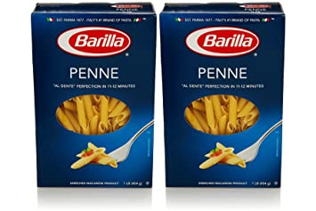Barilla Pasta Penne, 1.0 LB (Pack of 2)