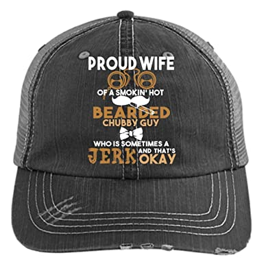 d6a4c7eb907 Wife Of A Bearded Chubby Guy Hat