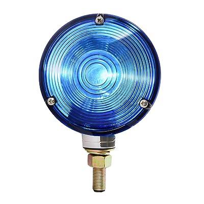 GG Grand General 80503 Cr. Die Cast 1 Face Blue Combination Light, 3 Holes: Automotive