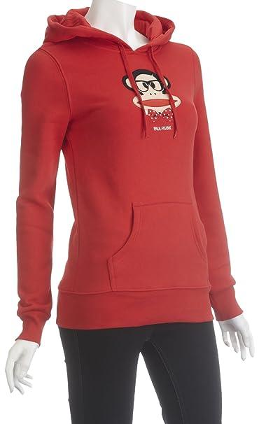 Paul Frank Julius lazo de forro polar sudadera con capucha jersey para mujer Rojo rosso Large: Amazon.es: Ropa y accesorios