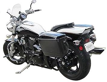 Maletas laterales Rigidas de 25 Litros mas soporte para Suzuki Marauder 250: Amazon.es: Coche y moto