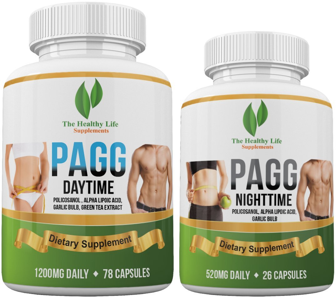 Ultimate PAGG Stack Formula - Blend of 8 Potent Dietary Supplements – Helps to Build Muscle and Increase Weight Loss