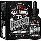 Man Arden 7X Beard Oil 30ml (Musk) - 7 Premium Oils For Beard Growth & Nourishment