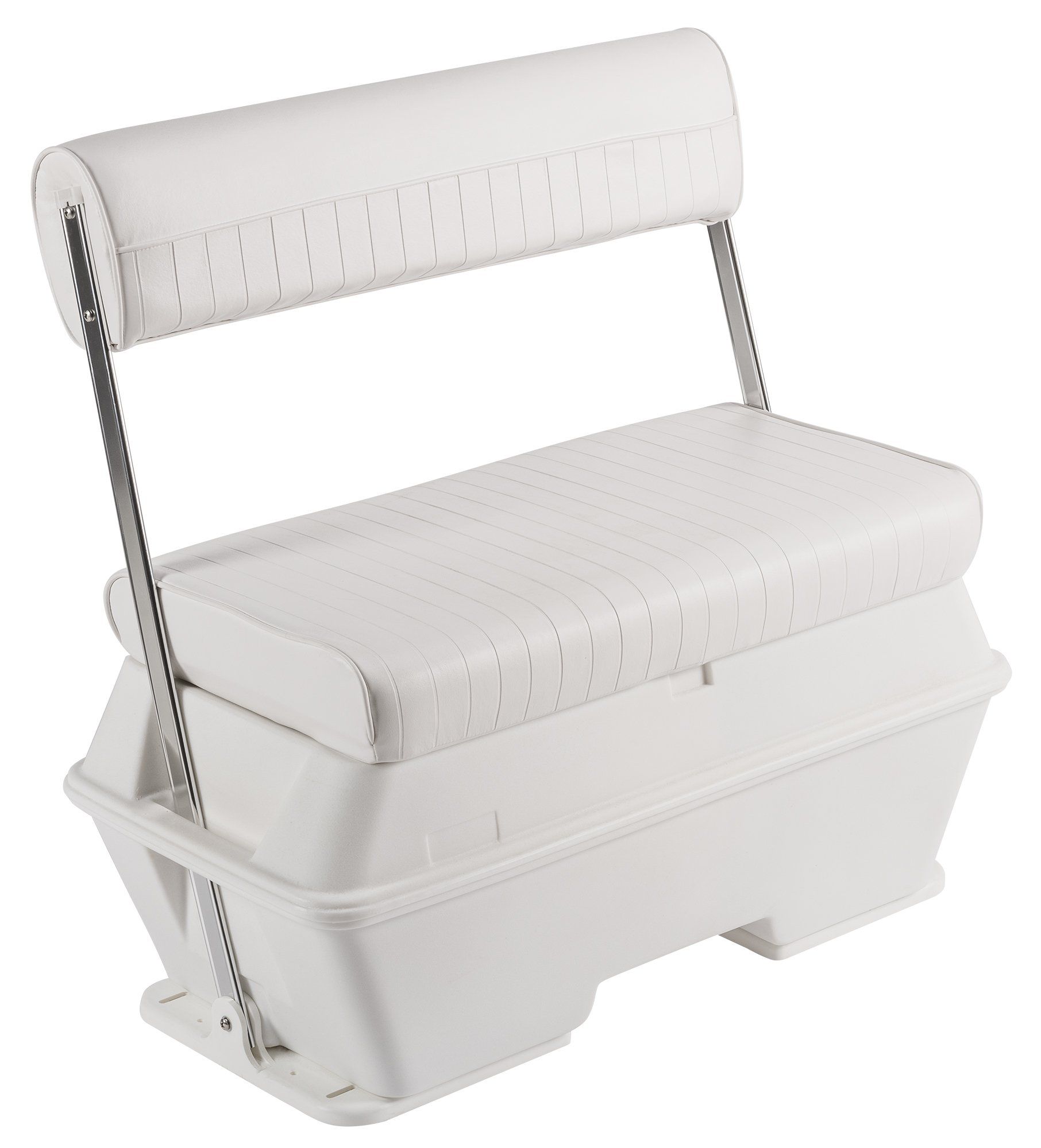 Wise 8WD156-784 Swingback Cooler Seat, 70-Quart, Cuddy Brite White