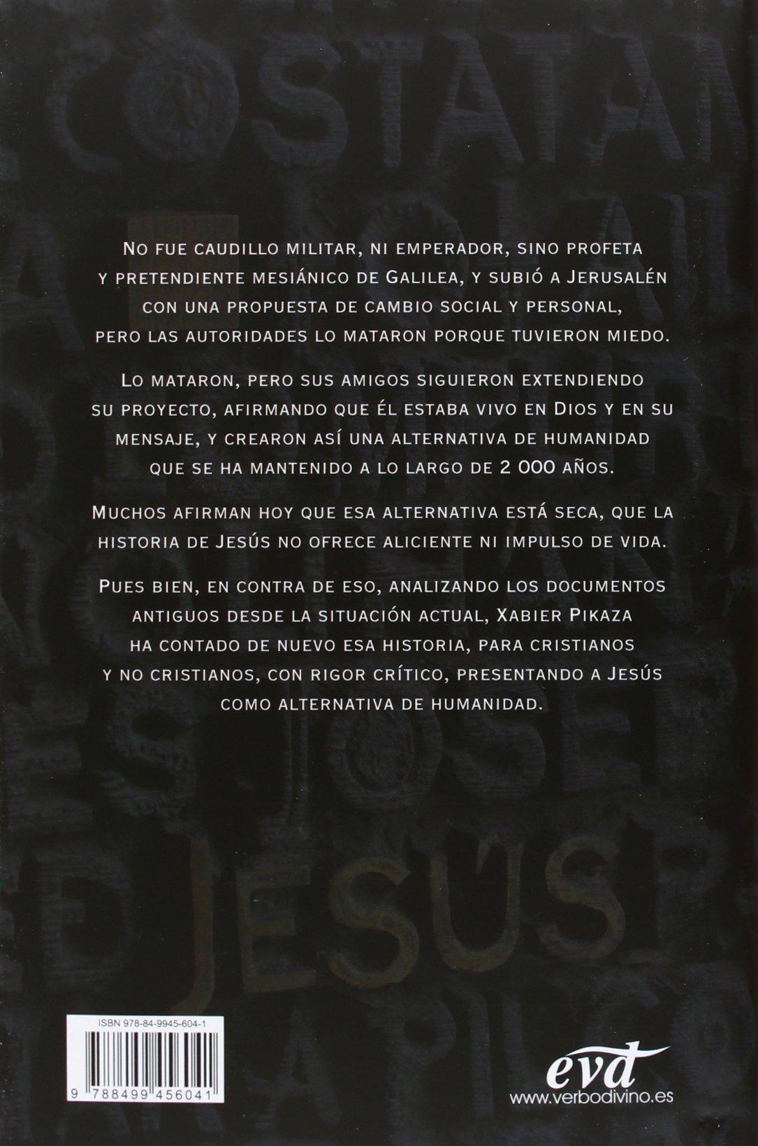 Historia De Jesus (Estudios bíblicos): Amazon.es: Pikaza Ibarrondo, Xabier:  Libros
