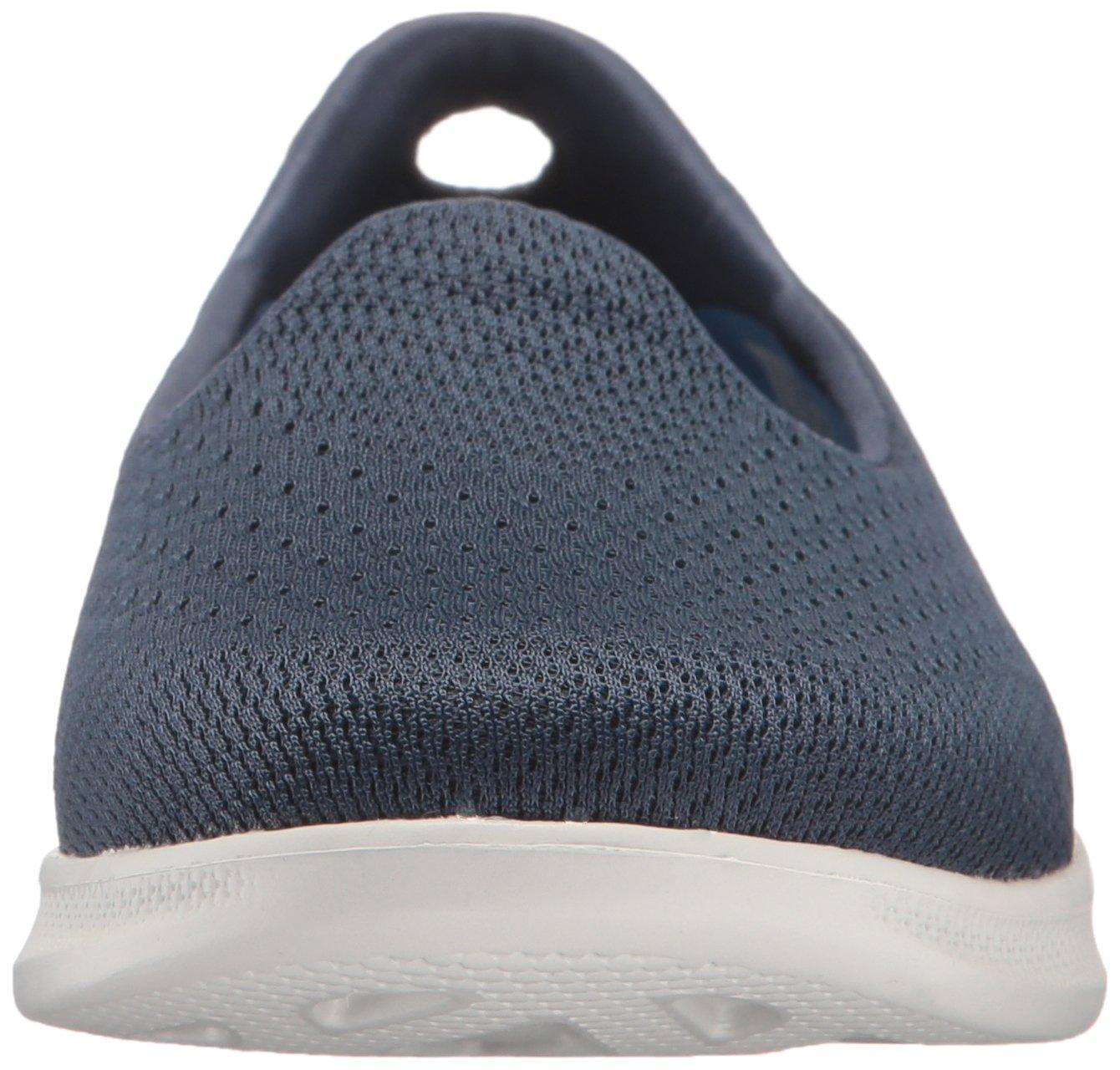 Skechers Performance Women's Go Step Lite Slip-on Walking Shoe B01IIBSZ2C 8 B(M) US Navy/Gray