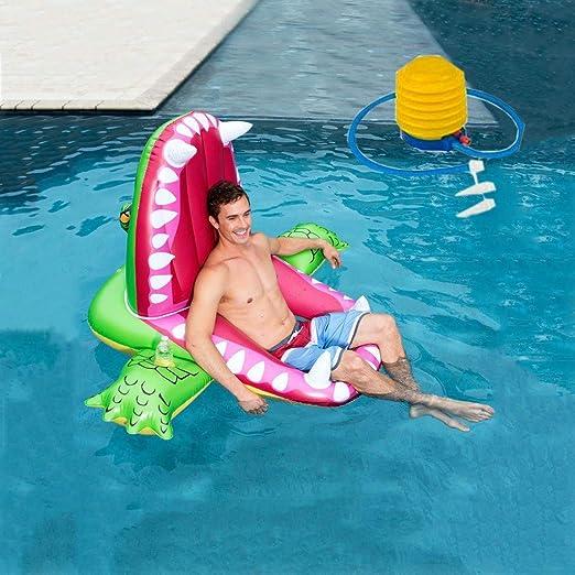 Fila flotante inflable de la silla de agua Inflable Flotador ...