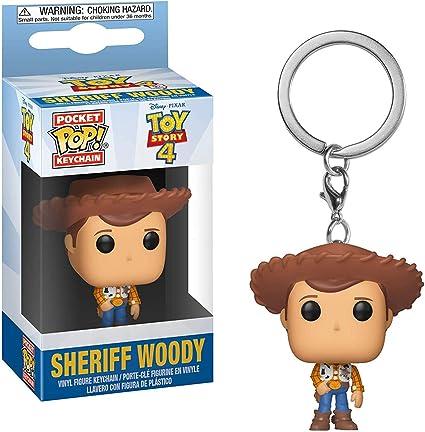Amazon.com: Woody: Disney Pixar Toy Story 4 x Funko Pocket ...