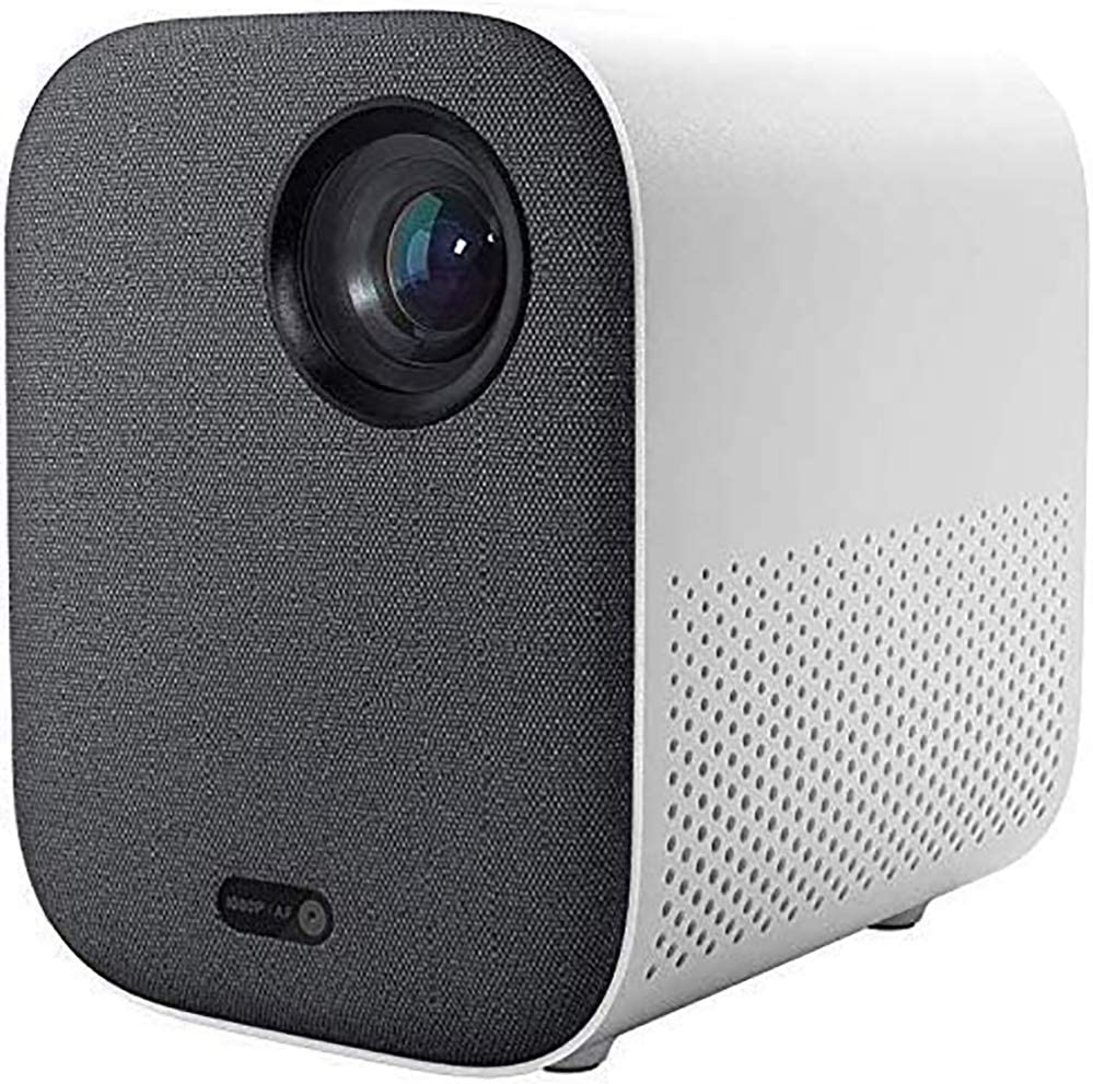 Xiaomi Mini DLP Projector 1080P Full HD AI Control Remoto de Voz 500ANSI 4K Video 2GB 8GB 2.4G / 5G WiFi 3D BT Proyector LED portátil para Cine en casa