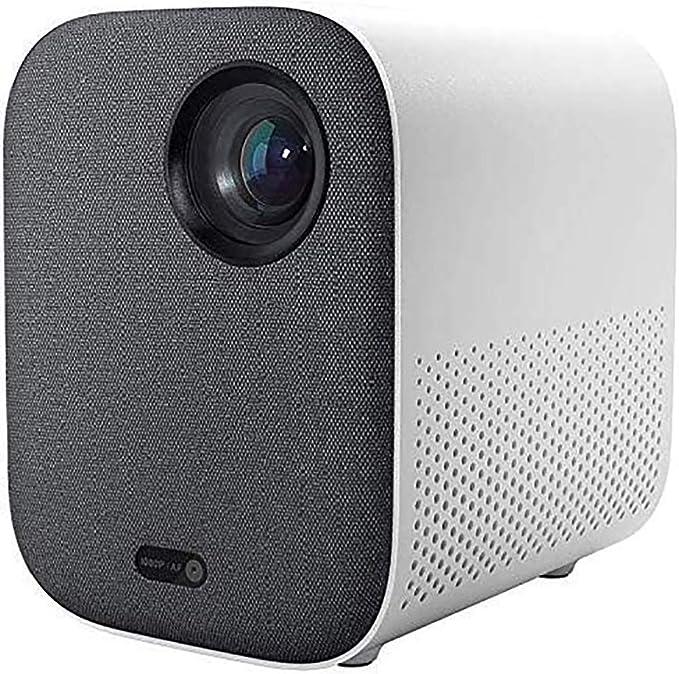 Xiaomi Mini DLP Projector 1080P Full HD AI Control Remoto de Voz 500ANSI 4K Video 2GB 8GB 2.4G / 5G WiFi BT Proyector LED portátil para Cine en casa: Amazon.es: Electrónica