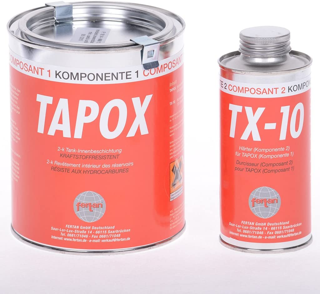 Tank Innenbeschichtung Fertan 2 K Epoxy Set 540 Gramm Auto
