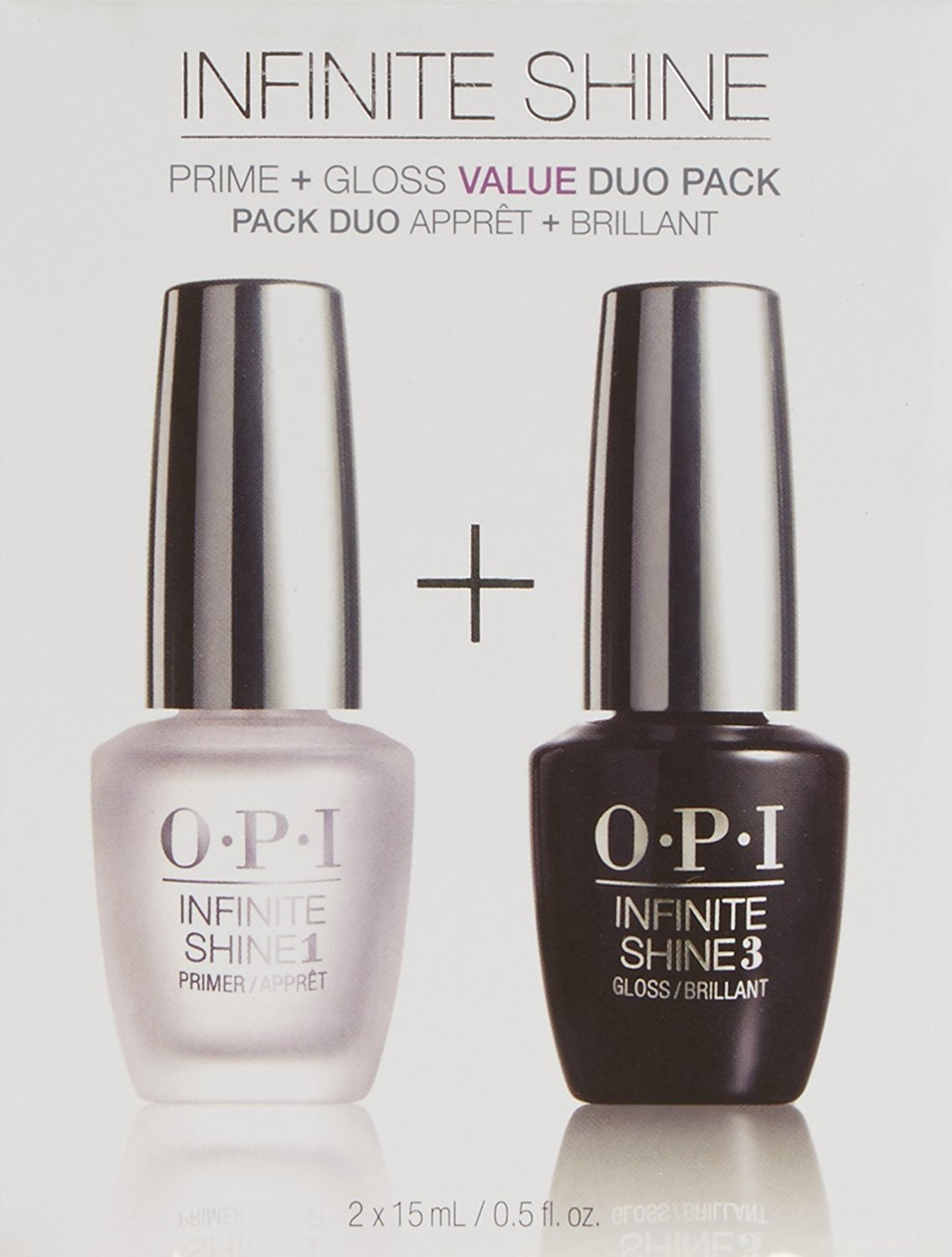 OPI Infinite Shine Set De Primer Y Brillo - 2 Unidades x 15 ml.: Amazon.es