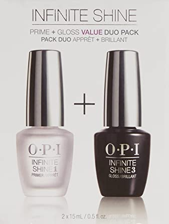 OPI Infinite Shine Set De Primer Y Brillo - 2 Unidades x 15 ml.