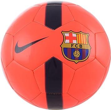 Nike FCB Supporter S Ball - Balón de fútbol, color naranja/negro ...