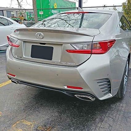 4X2 Amber CS Effect Dawn Enterprises RC15-FM Factory Style Flush Mount Spoiler Compatible with Lexus RC