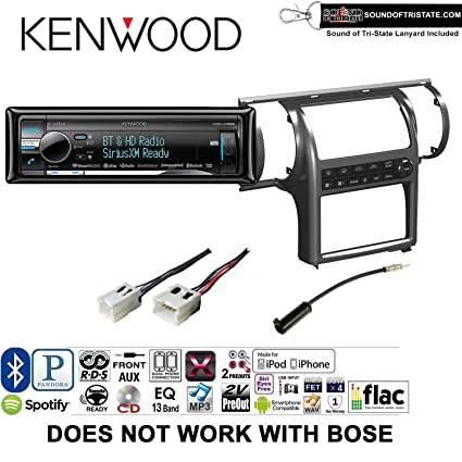 Amazon com: Kenwood KDCX998 Radio Install Kit with Bluetooth