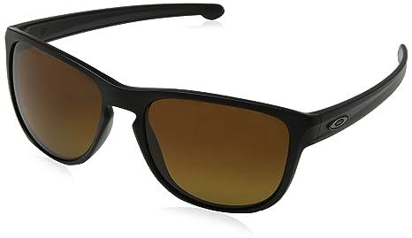 Oakley Badman 602003, Gafas de Sol para Hombre, Dark Carbon, 60