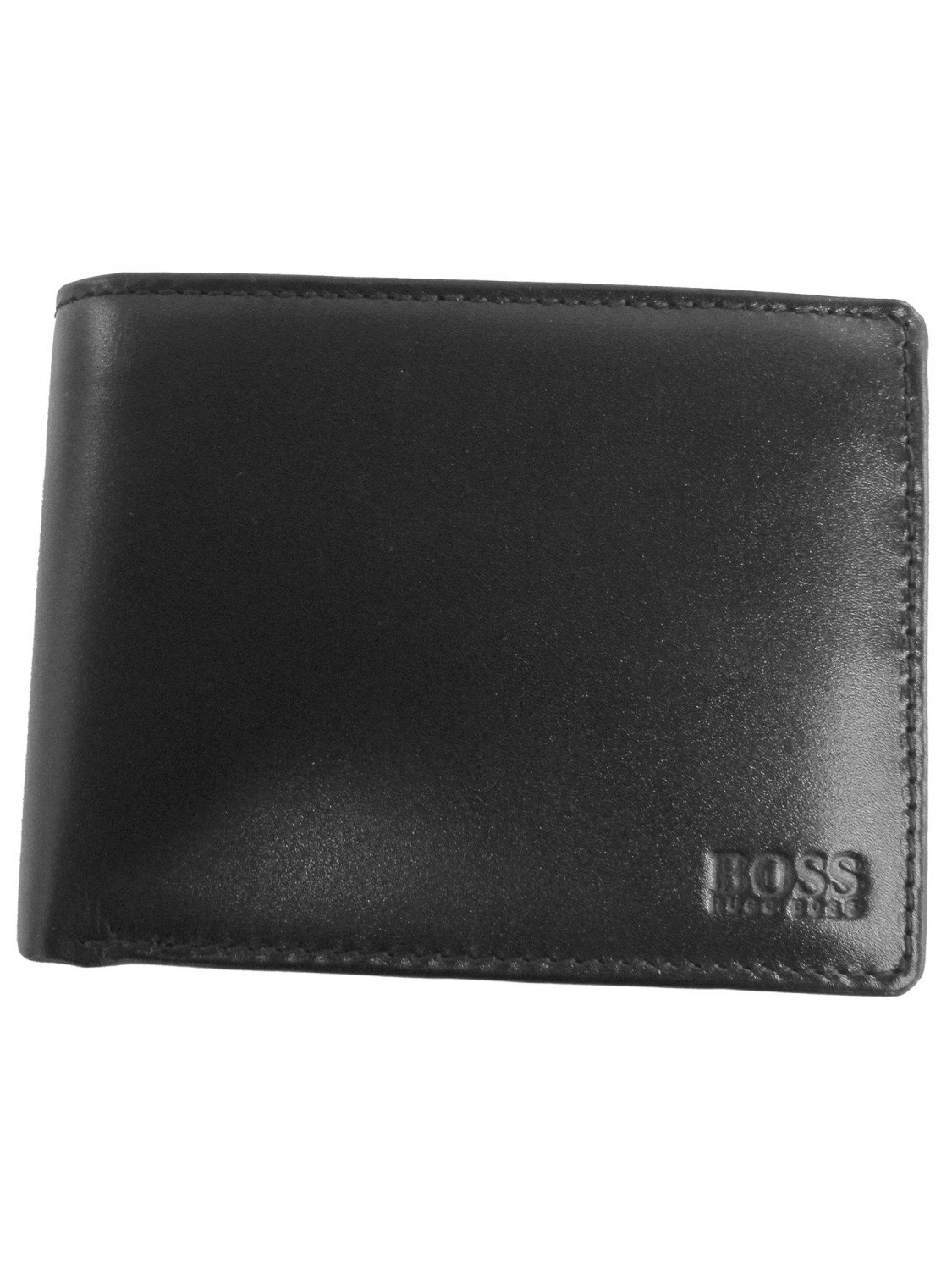 5fde8765ee8 Hugo Boss Arezzo 50128297 Mens Black Trifold Leather Coin Wallet:  Amazon.co.uk: Luggage