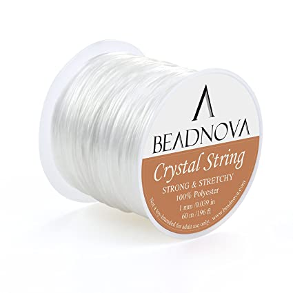 Jewelry Findings & Components 12 Roll 600 Meters Elastic Line Transparent Wire Crystal Beading Round Stretch Cord String Thread For Bracelet Jewelry Making Ture 100% Guarantee Beads & Jewelry Making