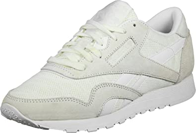 4f33e08ee53b Reebok Cl Nylon Sail Away Trainers White  Amazon.co.uk  Shoes   Bags