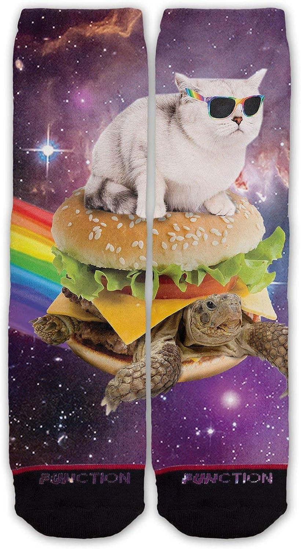 Function - Novelty Funny Cat Fashion Socks Cute Weird Funky