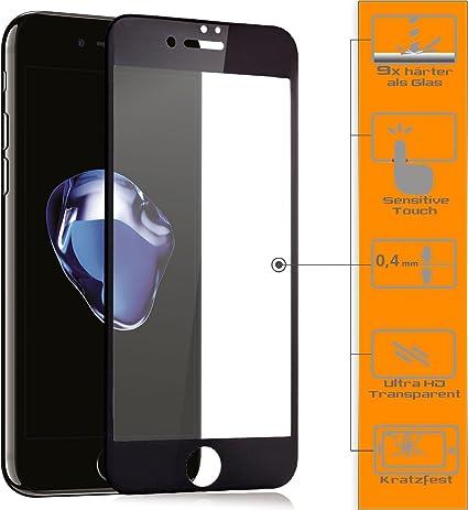 Zanasta Pellicola Protettiva Compatibile Con Iphone 6 Iphone 6s Vetro Temperato Screen Protector 3d Full Cover Proteggi Schermo Nero Amazon It Elettronica