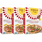 Simple Mills Almond Flour Mix, Pizza Dough, Naturally Gluten Free, 9.8 oz, 3 count
