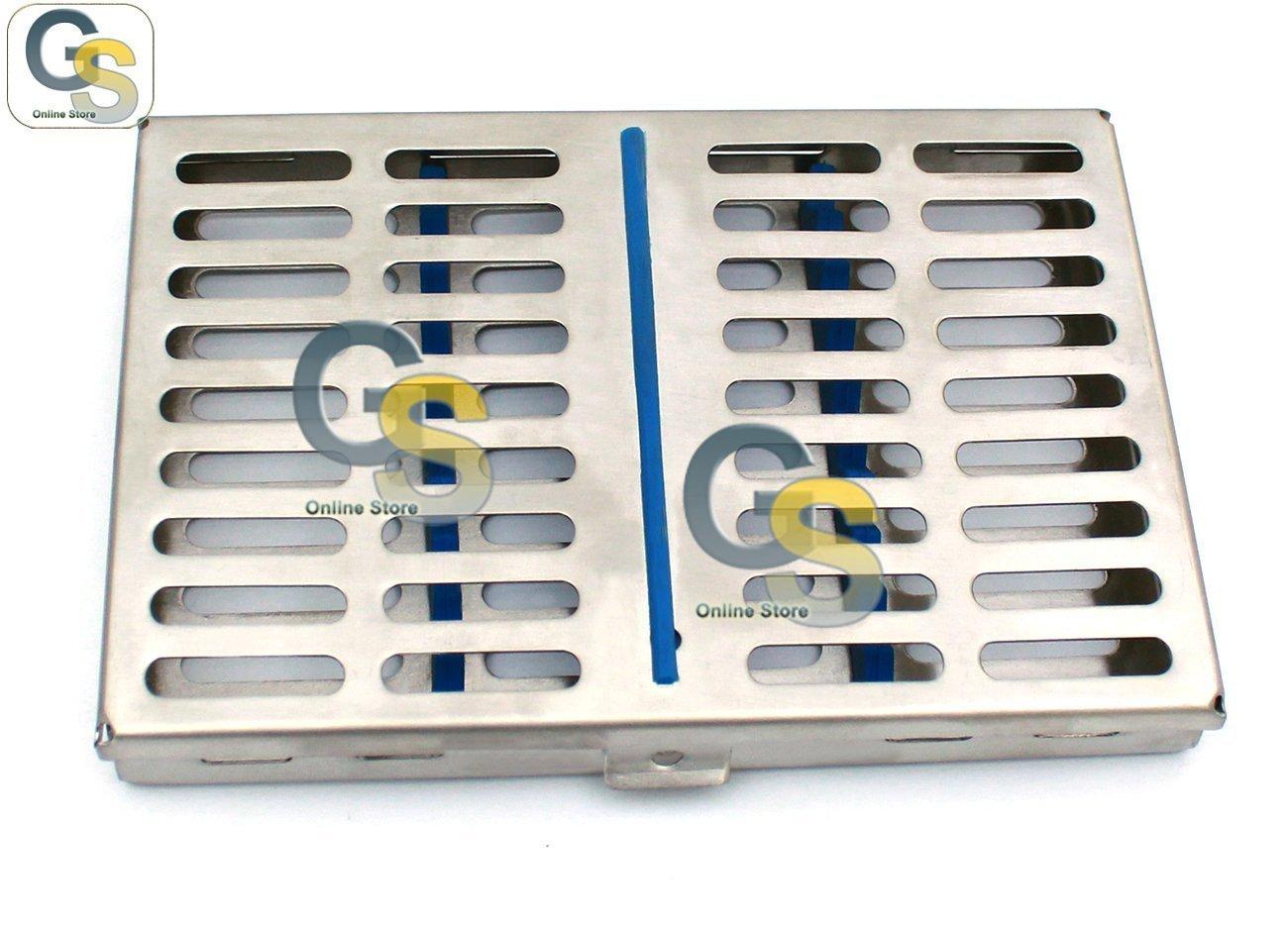 G.S 10 STERILIZATION CASSETTE RACKS BOX FOR 10 INSTRUMENTS