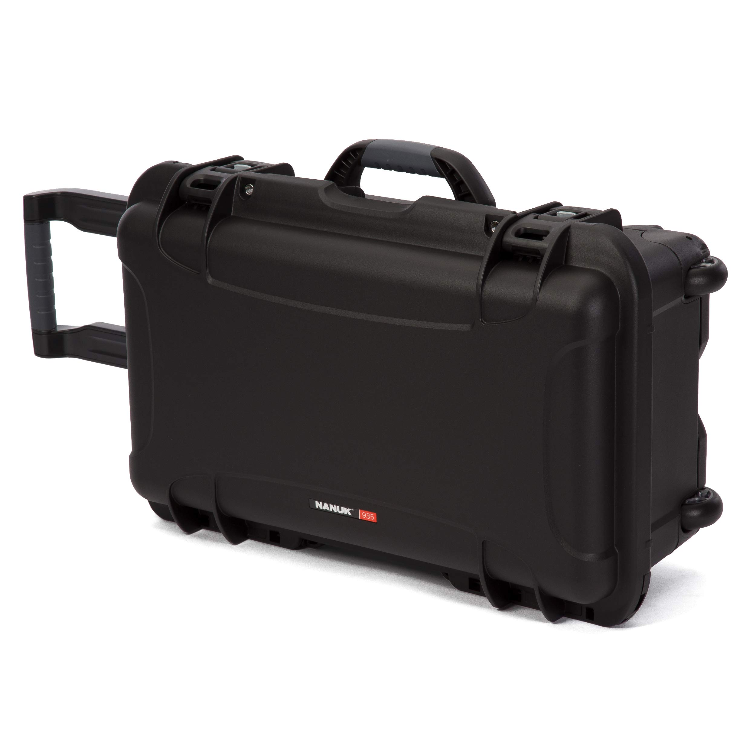 Nanuk 935 Waterproof Carry-On Hard Case with Wheels and Foam Insert - Black by Nanuk (Image #2)