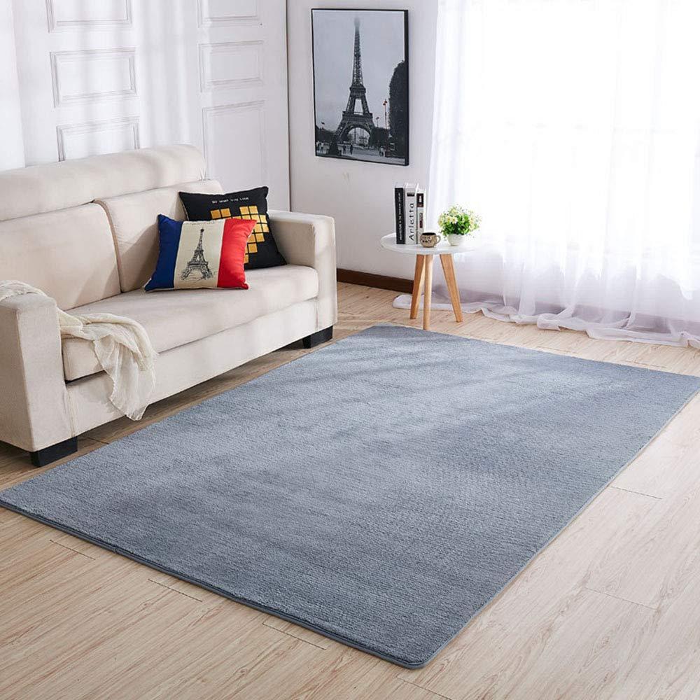 厚いカーペット、リビングルームのベッドルームのコーヒーテーブルヨーロッパのベッドサイドブランケット、洗える0ホルムアルデヒド   B07KCSQKQK