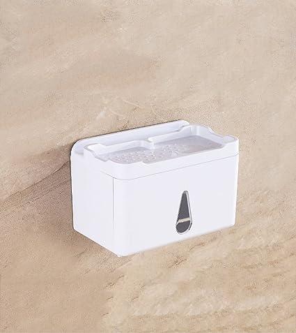 Bandeja Sanitaria plástico Toalla de Tela WC Multifunción Impermeable Caja de succión Tienda Absorber Pared Rack