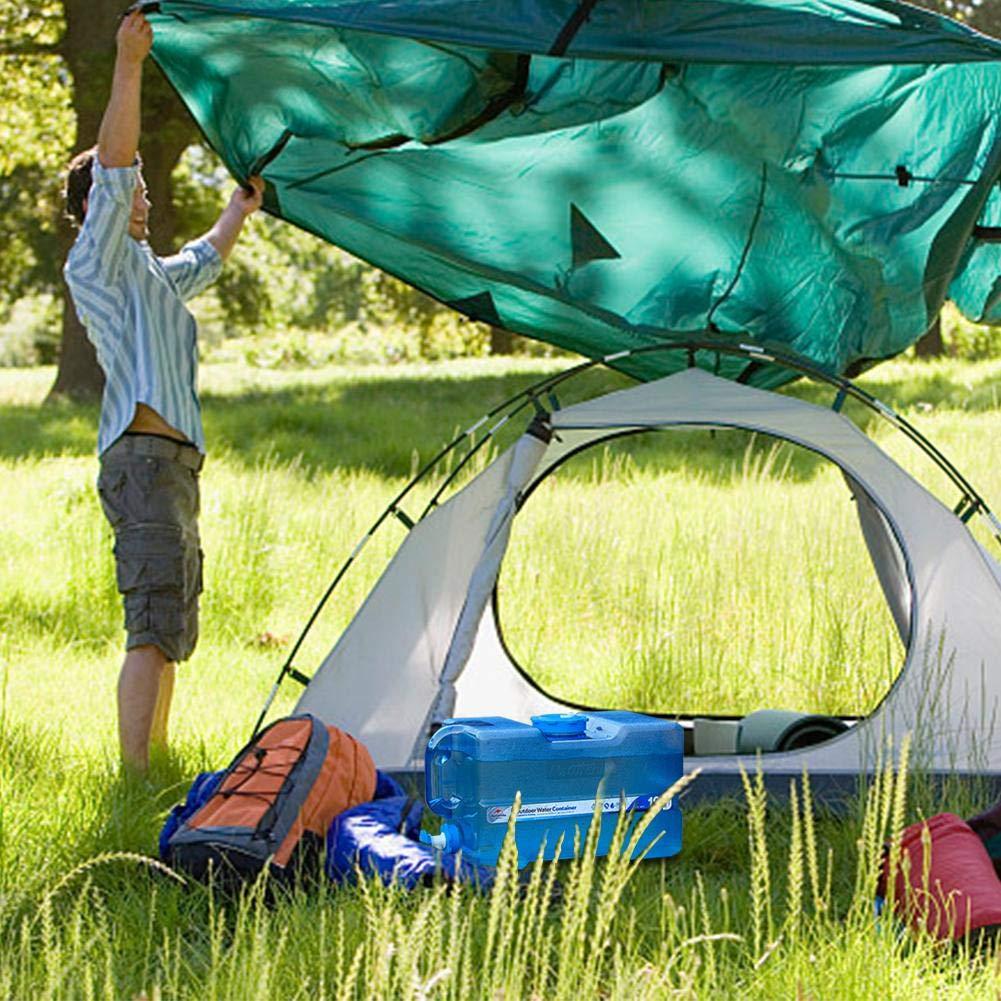 tama/ño 12l Senderismo para Exterior para Camping Mineral port/átil Actividades Catering Viajes Color a sunniY para Coche Caza para Escalada 12 l Bid/ón de Agua port/átil