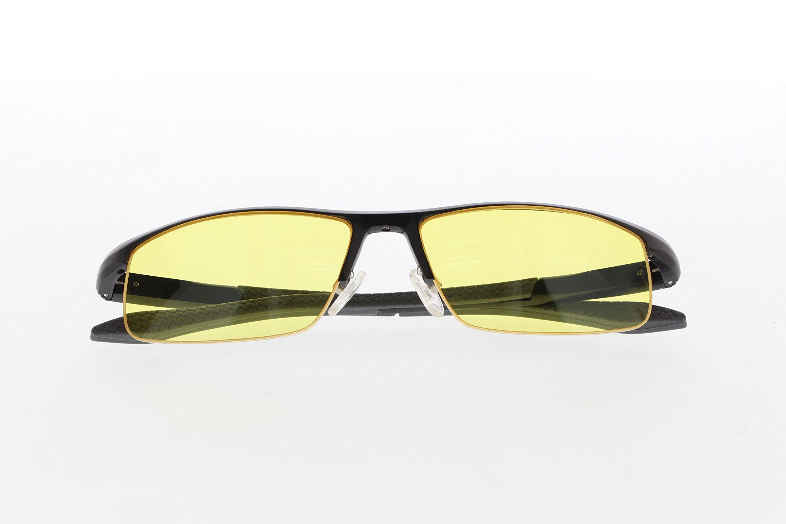 TNTi™ Billet Aluminum Frame eSport Pro Major League Gaming Glasses - Black Pearl by TNT interactive (Image #5)