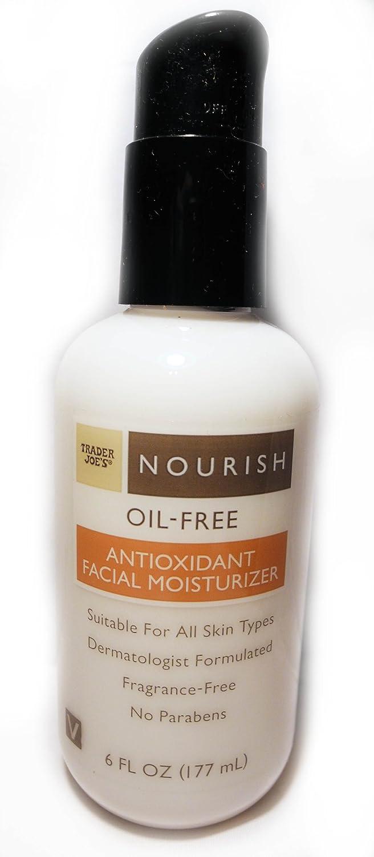 Trader Joe's Nourish Oil-Free Antioxidant Facial Moisturizer 6oz Trader Joe' s 0000000978217