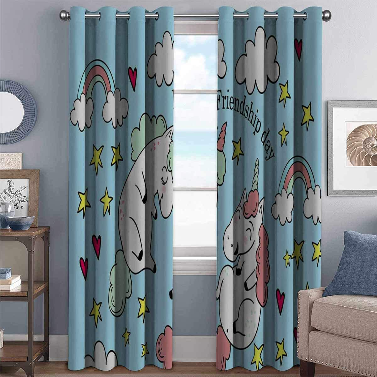 ANNERY-Cute-Unicorn-Blackout-Curtains-With-Three-Layer-Braided-Noise-Reduction