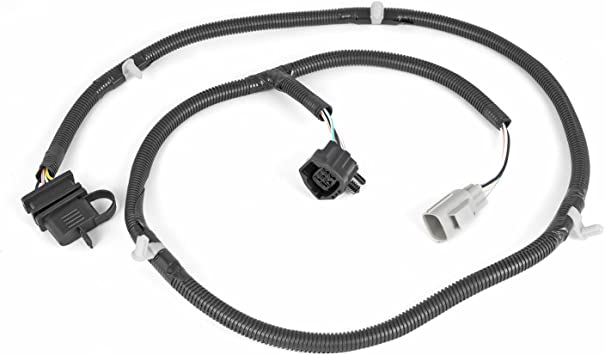 single fit for 07-18 jeep wrangler jk eag 67 trailer hitch wiring harness  kit electrical replacement parts diagenics.com  diagenics