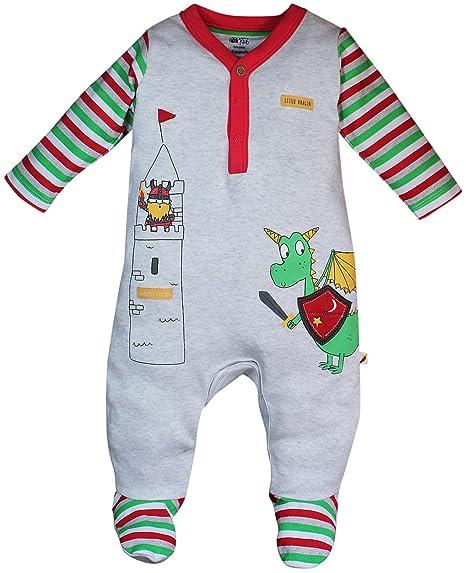 cc18195cf640 MINI KLUB FS Baby Boys  Sleep Suit (88EBOSL0206 Multi 5 9-12 Months ...